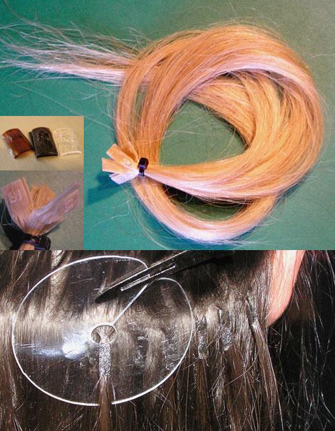 наращивать волосы мастеру