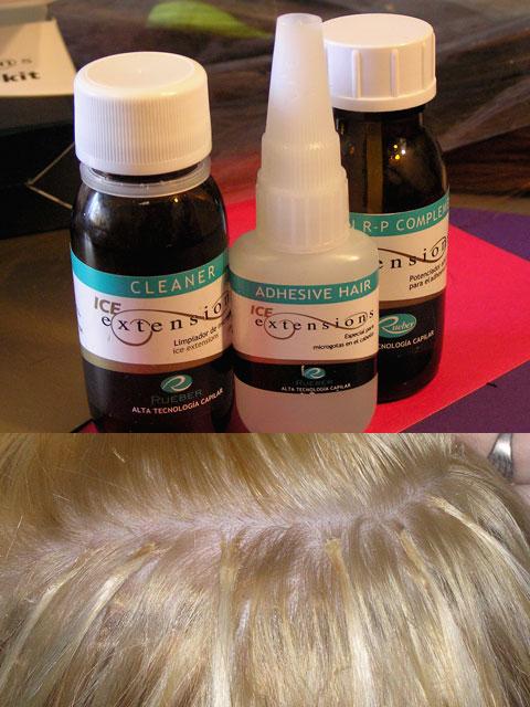 система наращивания волос